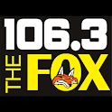 106.3 The Fox Radio Social logo