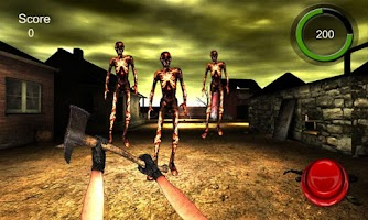 Screenshot of Dark Village - Shoot Zombie