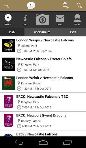 Newcastle Falcons Official
