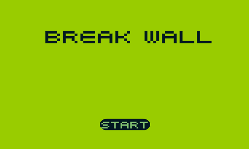 Break Wall 8-bit- screenshot