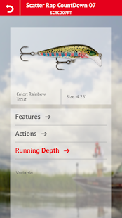 Rapala Lure Selector- screenshot thumbnail