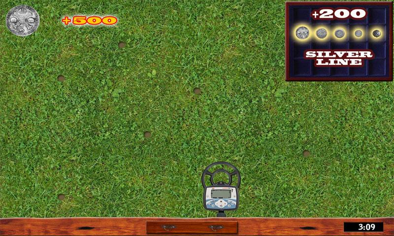 Metal Detector Game- screenshot
