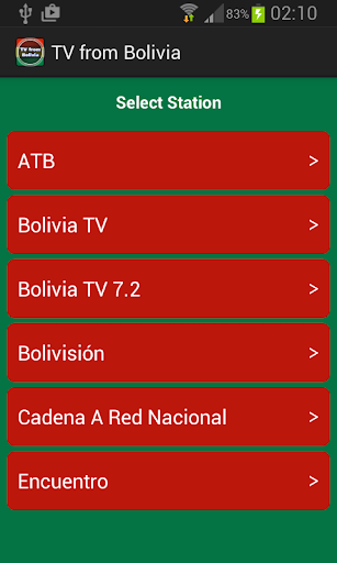 TV from Bolivia