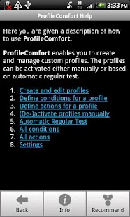 ProfileComfort - screenshot thumbnail