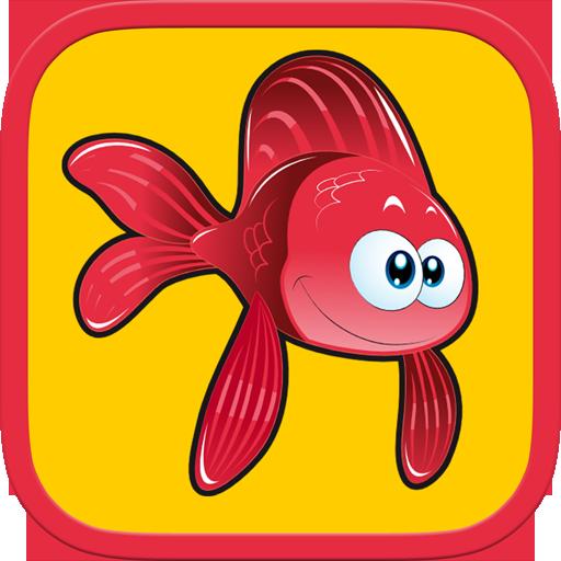 教育の魚のパズル - 子供のための楽しい LOGO-記事Game