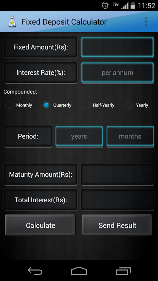 home deposit calculator