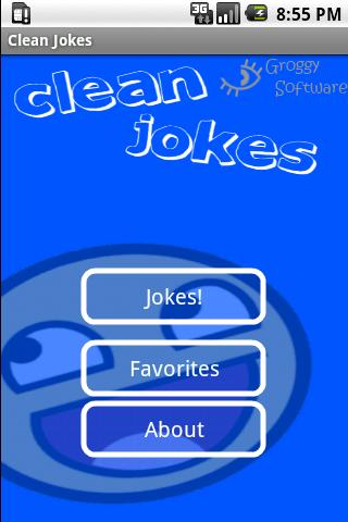 Clean Jokes - screenshot
