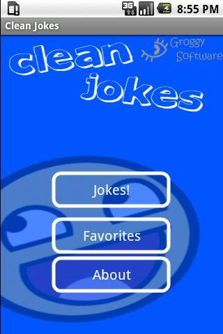 Clean Jokes - screenshot