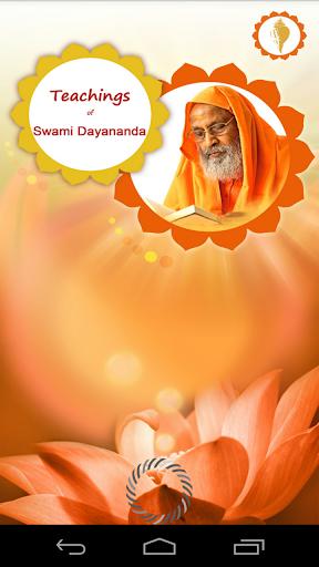 Teachings of Swami Dayananda