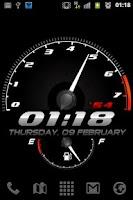 Screenshot of Race Clock Live WP