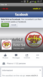 Radio Rete 94- miniatura screenshot