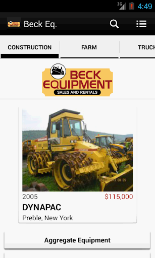 玩商業App|Beck Equipment Sales & Rentals免費|APP試玩