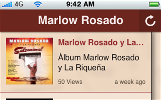 【免費音樂App】Marlow Rosado-APP點子
