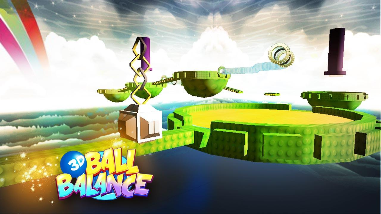 3D Ball Balance - screenshot