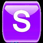 Purple W Socialize for Faceboo icon