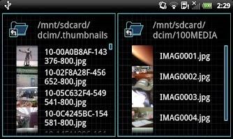 Screenshot of Cobi file manager