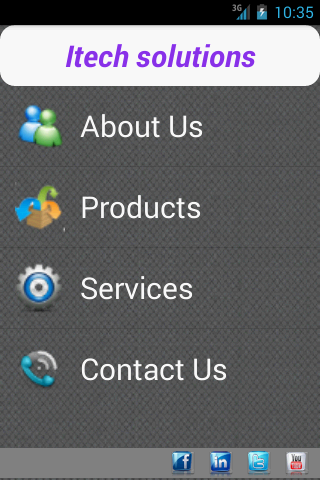 ITECH SOLUTIONS- screenshot