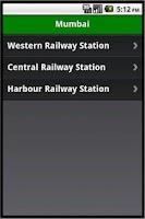 Screenshot of Mumbai Station History