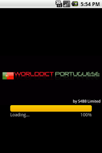 WorldDict Portuguese Full - screenshot thumbnail