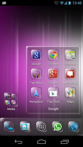 玩個人化App|クリアSQのテーマ4アペックスランチャー免費|APP試玩