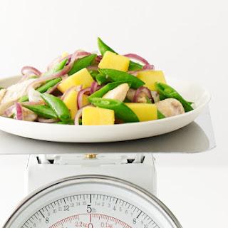 Stir-Fried Chicken with Mango, Sugar Snap Peas and JalapeñO Recipe