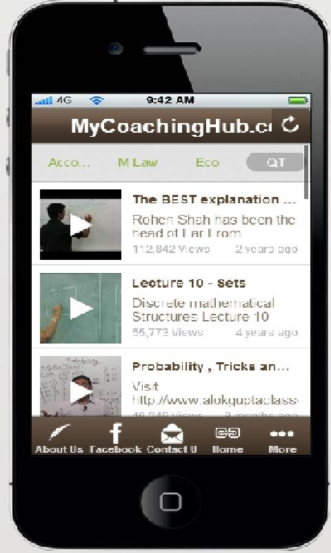 MyCoachingHub - CA CPT - screenshot