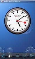 Screenshot of Analog Clock station Widget