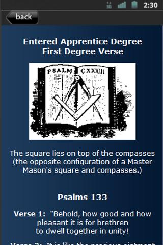 Freemasons Lite - screenshot