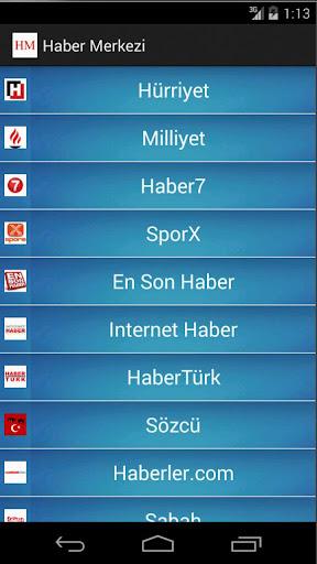 【免費新聞App】Haber Merkezi-APP點子