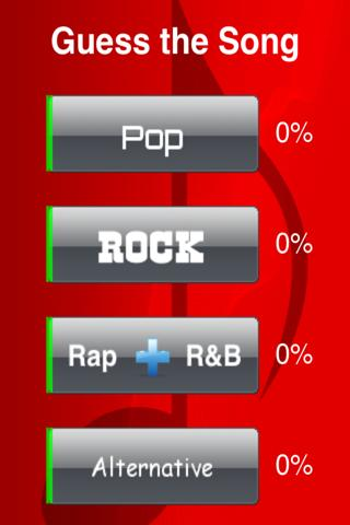 Guess the Song Pop, Rap, Rock - screenshot