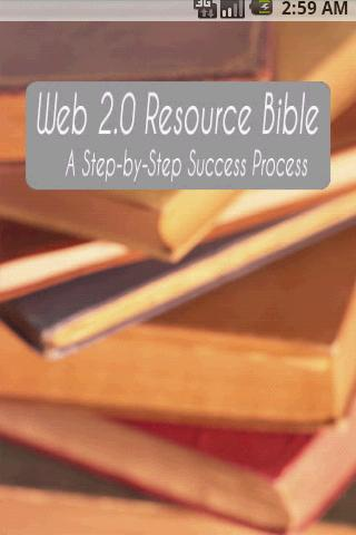 Web 2 Bible A Step by Step - screenshot