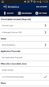 d2u: Recorder & Transcription screenshot 6