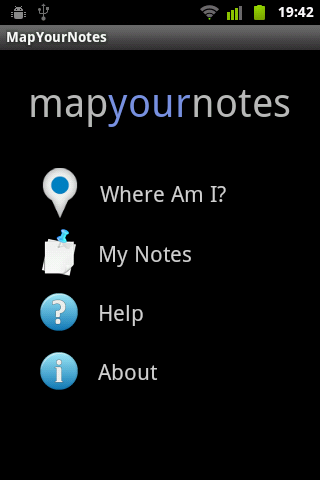Map Your Notes- screenshot