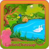 Landscape Decoration girl game