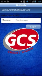 GCS Credit Union MobileBanking- screenshot thumbnail