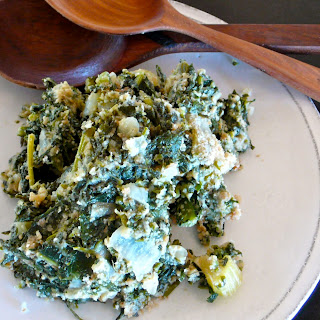 SPINACH, KALE STUFFING /DRESSING (Not Just for Thanksgiving!) Recipe