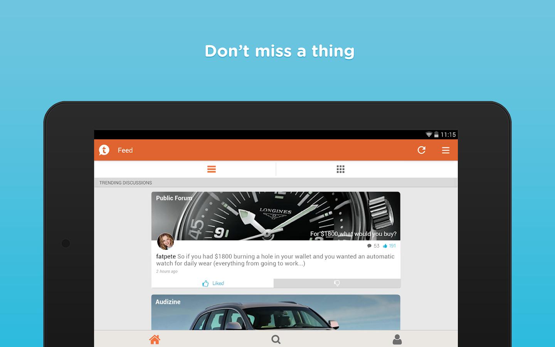 Tapatalk - screenshot