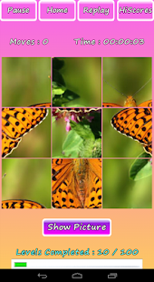 Butterfly Photo Puzzle Screenshot 13