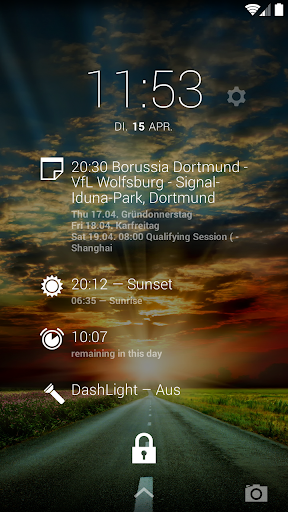 DashClock BetterCalendar