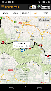 Tour de France Tour Tracker - screenshot thumbnail