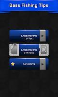 Screenshot of Bass Fishing Tips