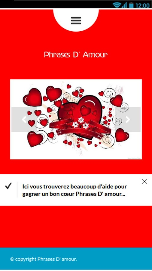 Phrases Damour Android Apps On Google Play