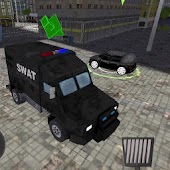 SWAT Police Car Driver 3D