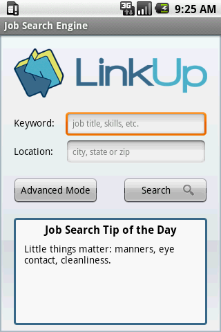 Job Search Engine - screenshot
