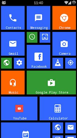 Metro Theme Launcher - WP Look 1.12 screenshot 642097