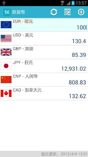 易貨幣 匯率