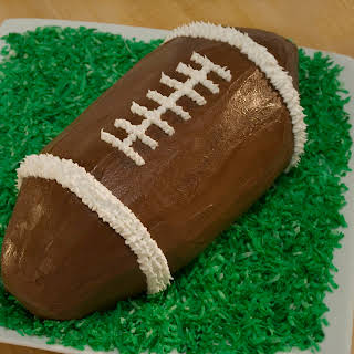 Football Ice Cream Cake.