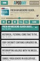 Screenshot of Podbay