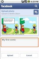 Screenshot of Comic & Meme Creator