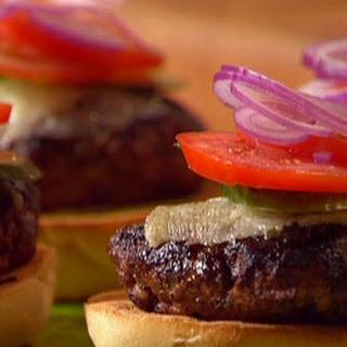 Spanish Burgers with Manchego and Chorizo Hash Browns